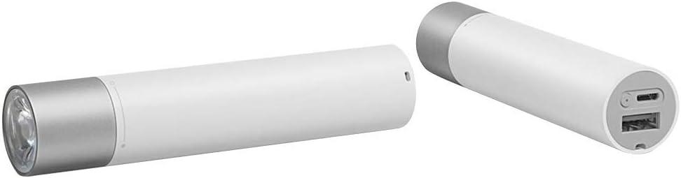 Xiaomi Power Bank Blanco con Linterna 3.250mAh BATERÍA PORTÁTIL USB