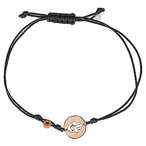 365Love Women's 18K Gold Diamond Bracelet, 0.89 g