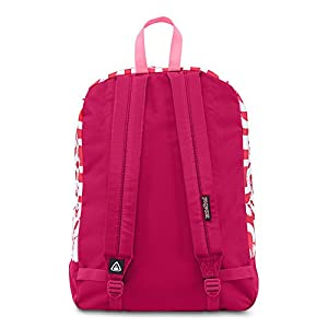Jansport Black Label Superbreak Cyber Pink Tribal Artisan Backpack
