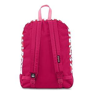 Jansport Black Label Superbreak Cyber Pink Tribal Artisan Backpack