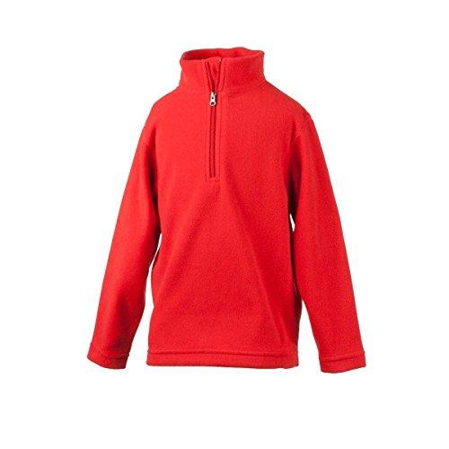 Micro Fleece 1/2 Zip Pullover (Obermeyer Kids Unisex Ultragear 100 Micro Zip-T (Little Kids/Big Kids) Lava Sweatshirt XS (1/2 Toddler))