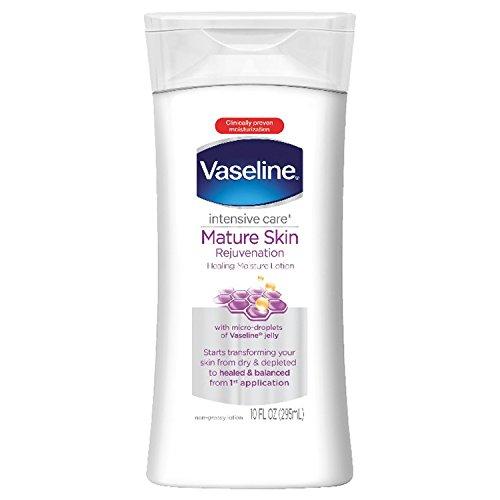 10 oz, Mature Skin Rejuvenation : Vaseline Intensive Care Lotion Mature, Skin Rejuvenation 10 oz
