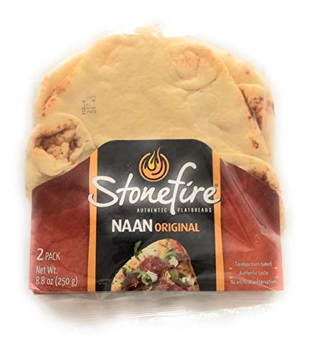 Stonefire Naan Fresh Authentic Flatbreads, (3 Pack) Origional