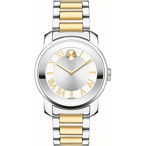 Movado Bold Reloj de mujer cuarzo suizo 32mm caja de acero 3600245: Amazon.es: Relojes