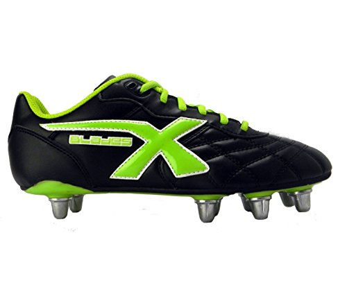 8 SG Noir Crampons de Vert Crampons Rugby Legend F8qzU5wq