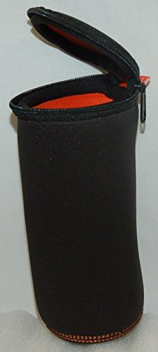 Original JBL FLIP Bluetooth Speaker 1 & 2 Protective Zipper Sleeve Case BLACK Pouch Soft Protection