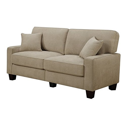 RTA Palisades Collection 73-inch Silica Sand Sofa