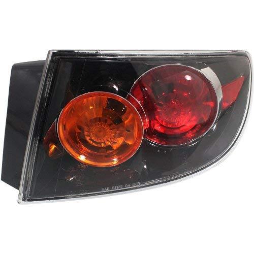 Garage-Pro Tail Light for MAZDA 3 04-06 RH Outer Assembly Sport Type Bumper Sedan