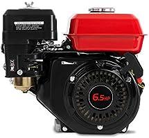 EBERTH 6,5 CV Motor a gasolina (19,05 mm Diámetro del eje ...