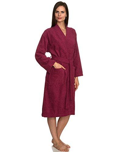 TowelSelections Women's Robe Turkish Cotton Terry Kimono Bathrobe Small/Medium Malaga