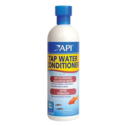 API TAP WATER CONDITIONER Aquarium Water Conditioner 16-Ounce Bottle (Api Aquarium Pharmaceuticals)