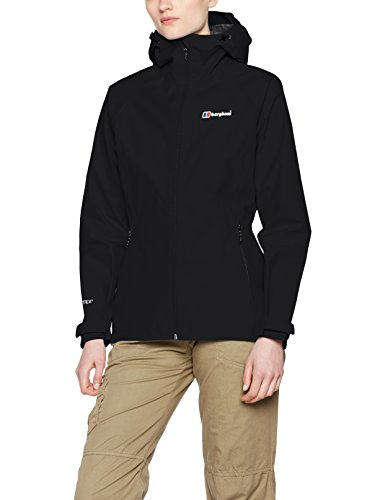 Price comparison product image Berghaus Women's Paclite 2.0 Waterproof Shell Jacket,  Black / Black,  8