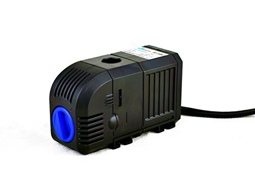 SongJoy 396 GPH Submersible Fountain Pump 25W for Aquarium Outdoor Pond Fish Tank Hydroponics with 4.9ft Power Cord