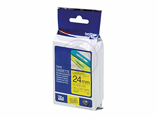 Brother P-Touch TZES651 TZe Extra-Strength Adhesive Laminated Labeling Tape, 1
