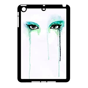 ALICASE Diy Watercolor Phone Case For iPad Mini [Pattern-1]