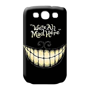 samsung galaxy s3 High Scratch-free Protective phone case cover alice in wonderland we are all mad here