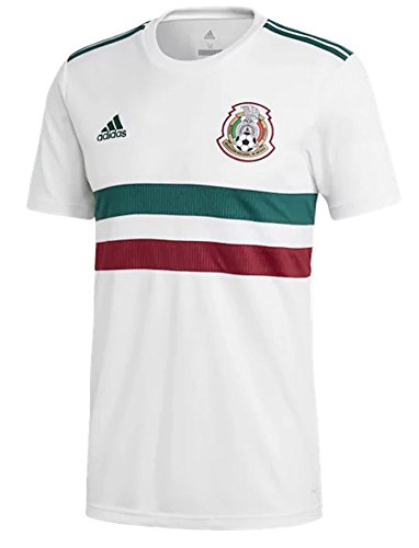 4480db3b1 adidas Mexico Official Youth Away Soccer Jersey S S World Cup Russia 2018  (XL)