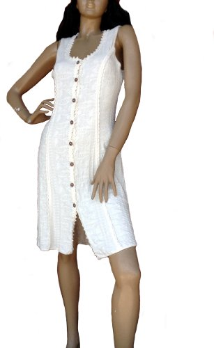 Front Women Alpakaandmore Cotton Dress Buttoned Pyma Ecological gAdrxdwqXW