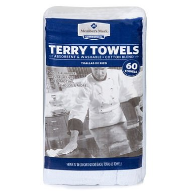 (Members Mark Commercial Terry Towels 60 Towels)