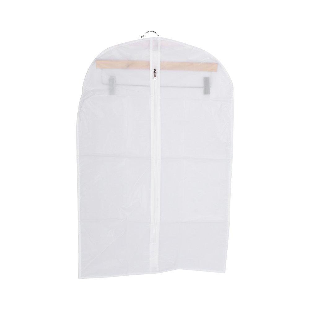 Asixx Garment Protectors, Clothes Dustproof Cover Protector Novel Garment Suit Dress Jacket Travel Storage Bag 3 Sizes Protects Clothes Against Dirt, Dust & Moths(4570CM(S))