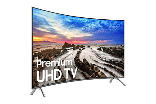 Samsung Electronics UN55MU8500 Curved 55-Inch 4K Ultra HD Smart LED TV (2017 Model)
