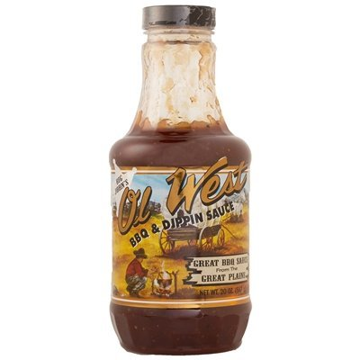 Big John's Ol' West BBQ & Dippin Sauce - Case (Barbecue Sauce Case)