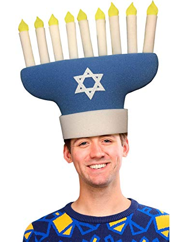 FUNKY FRESH Hanukkah Adult Hat (One Size) ()