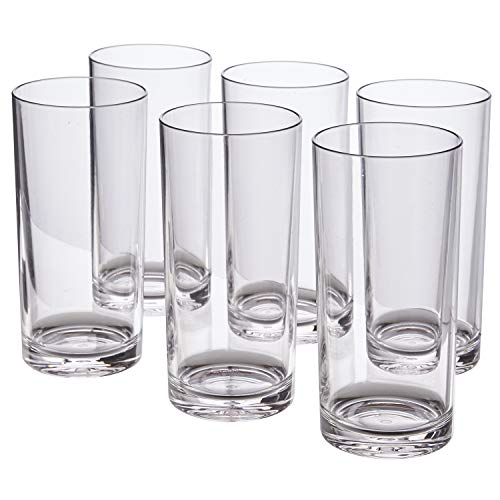(Classic 16-ounce Premium Quality Plastic Tumblers | set of)