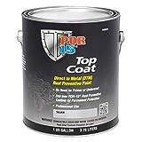 POR-15 46001 Top Coat Silver Paint 128. Fluid_Ounces