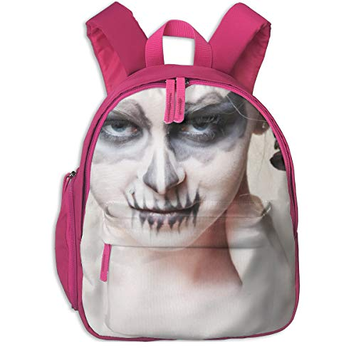 Halloween-Zombie Bride Makeup Girl Children School Bag Book