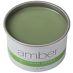 Amber Austrian Green Wax 14 oz