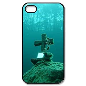 Hard Shell Case Of Jesus Christ Cross Customized Bumper Plastic case For Iphone 4/4s