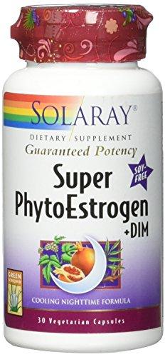 (Solaray Super Phytoestrogen + Dim VCapsules, 30 Count)