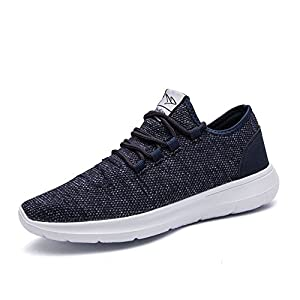 saibhreas Athletic Running Shoes Fashion Sneakers Walking Shoes Casual Mesh Soft Sole Breathable Lightweight Blue 8D(M)