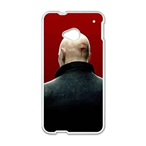 hitman absolution 6 HTC One M7 Cell Phone Case White Customized Toy pxf005-3427659
