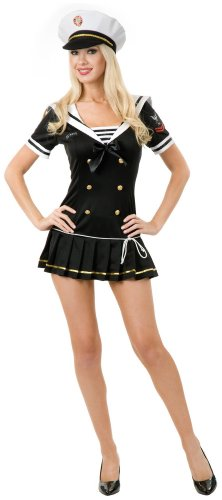 Pin Up Sailor Costume 40s (Navy Brat Adult Costume -)