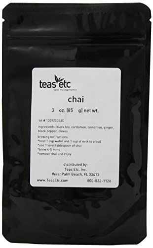Teas Etc Chai Loose Leaf Black Tea 3 oz.