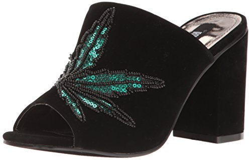 Iron Fist Women's Mary Jane Slide Platform Heels, 3 UK Black (Black 000)