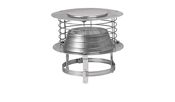 Varispir - Aspirador estático de aluminio para diámetro 110 a 139 ...