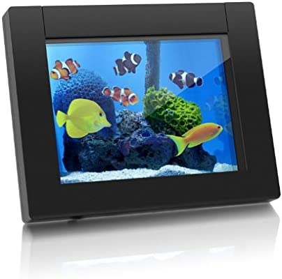 AWDMPF110F 10 Hi-Res WIFI Digital Photo Frame w// Touchscreen IPS LCD Display /& 8GB Memory Photo//Music//Video Support 1024 x 600 Resolution Aluratek Wall Mountable