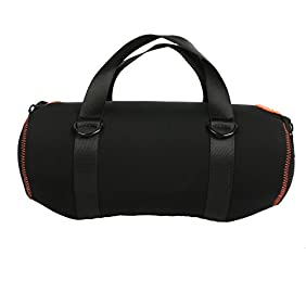 co2CREA Soft Storage Carrying Travel Case for JBL Xtreme Portable Wireless Bluetooth Speaker fits Charger and Power Adapter Black