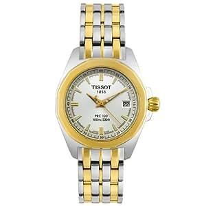 Tissot Women's T22228131 T-Sport PRC 100 Two-Tone Watch