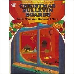 christmas bulletin boards walls windows doors christian bulletin
