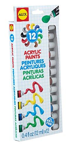 ALEX Toys Artist Studio 12 Acrylic Paints