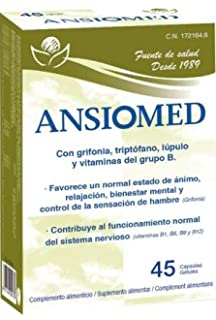 ANSIOMED - BIOSERUM - 1 UNIDAD (45 CÁPS) - ANSIOMED 45 CÁPSULAS - BIOSERUM
