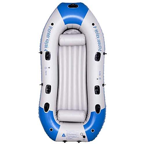 HYYQG Inflatable Kayak Accessories,3+1 Person Sea Fishing Kayak Paddle Rod Air Pump Kit Bottom Plate Bag