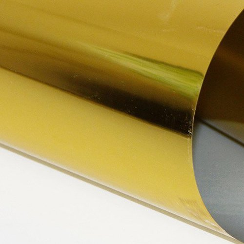 Metallic, Gold Heat Transfer Vinyl 19