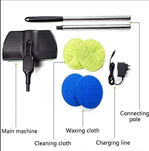 ADAHX Electric Spinning Mop,Cordless 360 Degree Mopping Machine Rechargeable, Wireless Electric Rotary Cleaninghand-held, Powered Floor Cleaner Scrubber Polisher Mop,Black by ADAHX (Image #7)