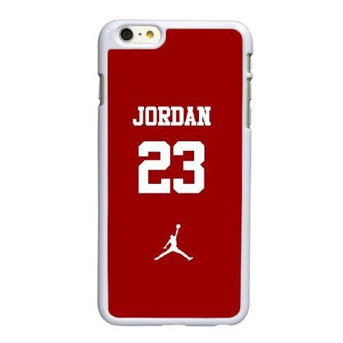 C1V12 Jordanie logo N2G3GE coque iPhone 6 4.7 pouces cas de couverture de téléphone portable coque blanche KV8KVX5GX