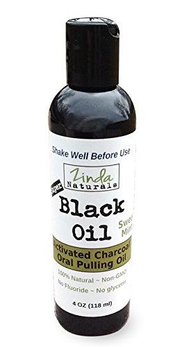 Mouthwash activated charcoal Zinda Naturals